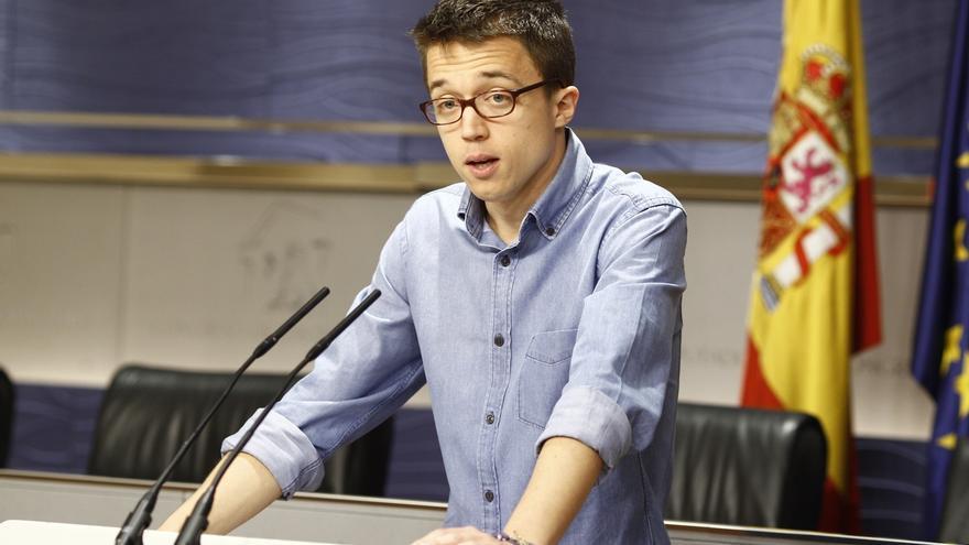 """Errejón insta a Rajoy a ir a debates por """"respeto democrático al pueblo"""" y, si no le gusta, que """"no se meta"""" en política"""