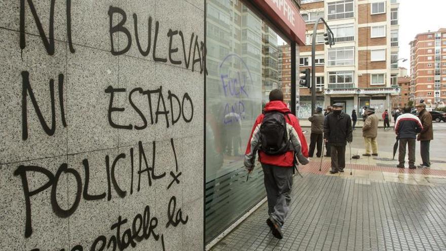 La Federación de Vecinos de Burgos equipara la violencia callejera con los recortes