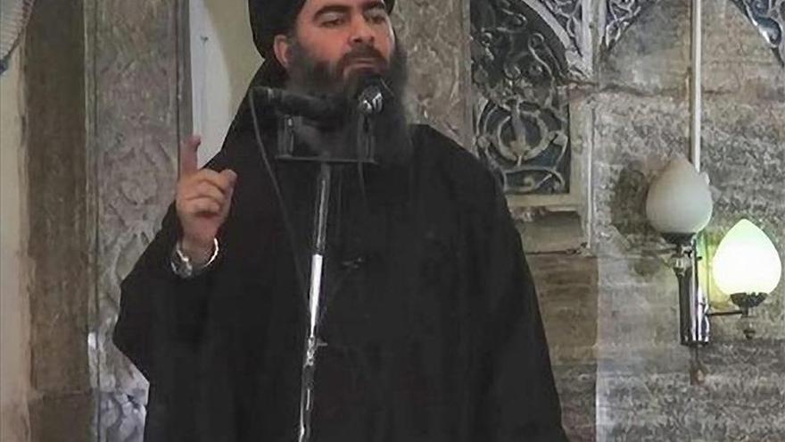 """El jefe del EI dice en un mensaje que """"el islám es la religión de la guerra"""""""