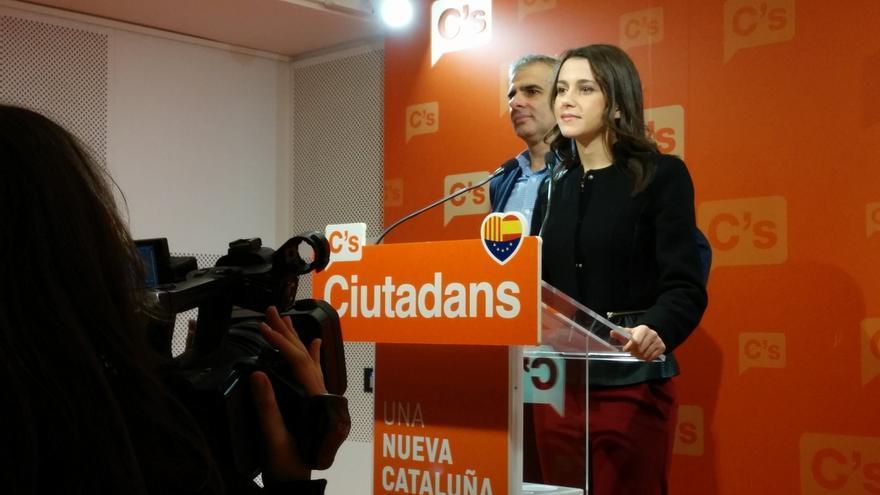 "Arrimadas: ""Estamos más cerca de un presidente catalán de España que de una España rota por Cataluña"""