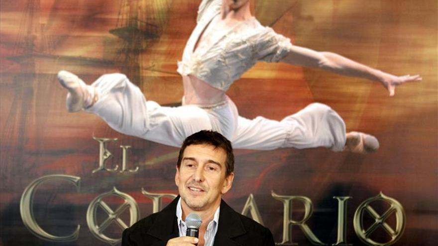 Julio Bocca lleva ballet uruguayo a Colombia con bailarín español Ciro Tamayo
