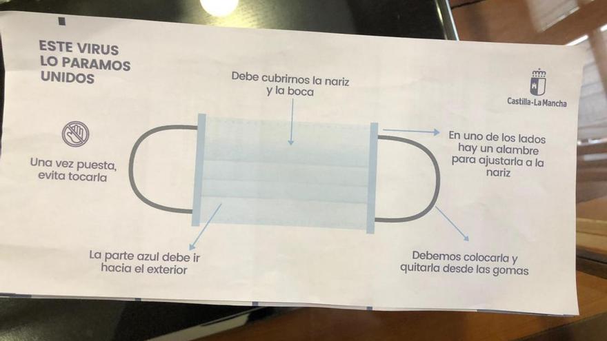 El paquete de tres mascarillas que se repartirá en las farmacias será gratuito para las personas jubiladas
