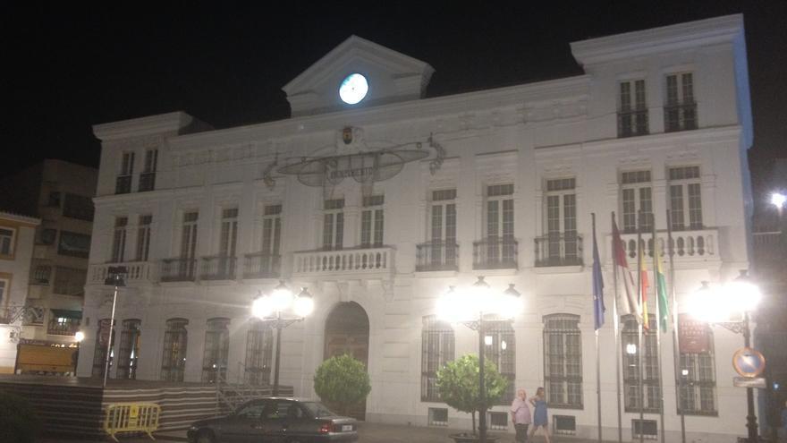 Ayuntamiento de Tomelloso en fiestas / Foto: Javier Robla