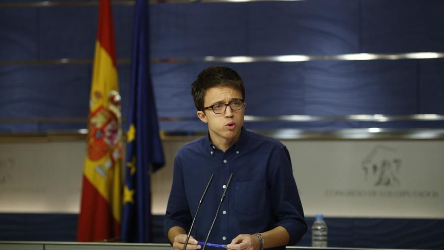 Errejón precisa que Podemos apoya cualquier consulta en Cataluña, pero que una unilateral no tendrá efectos