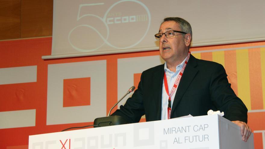 El nuevo secretario general de CCOO PV, Arturo León