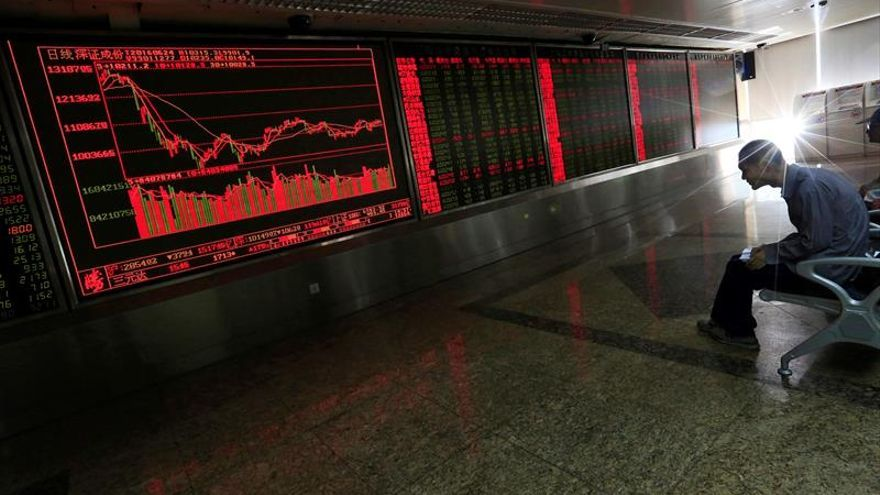 La Bolsa de Shanghái abre con pérdidas del 0,35 %