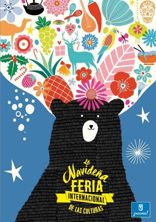 Cartel oficial de la Feria Internacional de las Culturas