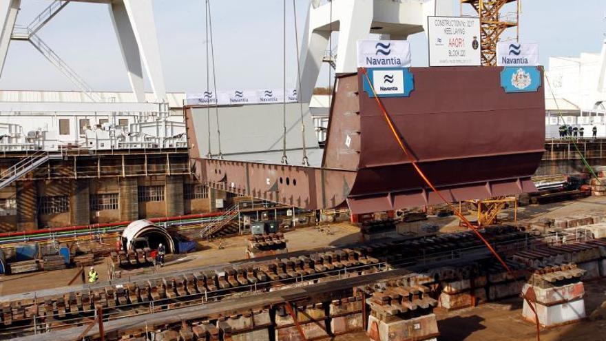 Navantia Ferrol construirá cinco fragatas F-110 por 4.317 millones en 13 años