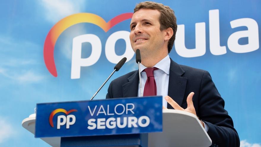 """El PP dice que Sánchez """"recula"""" en los debates """"obligado"""" por la oposición y por """"su desgaste electoral"""""""