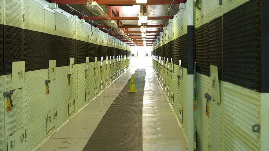 Bloque de celdas en Camp Delta, en la bahía de Guantánamo © US DoD