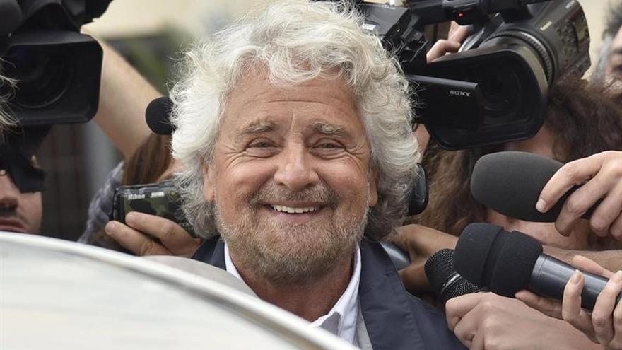 Beppe Grillo anuncia que vuelve a liderar el Movimiento 5 Estrellas