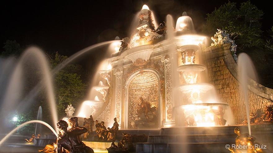 Las monumentales fuentes de los jardines del Palacio Real de La Granja de San Ildefonso