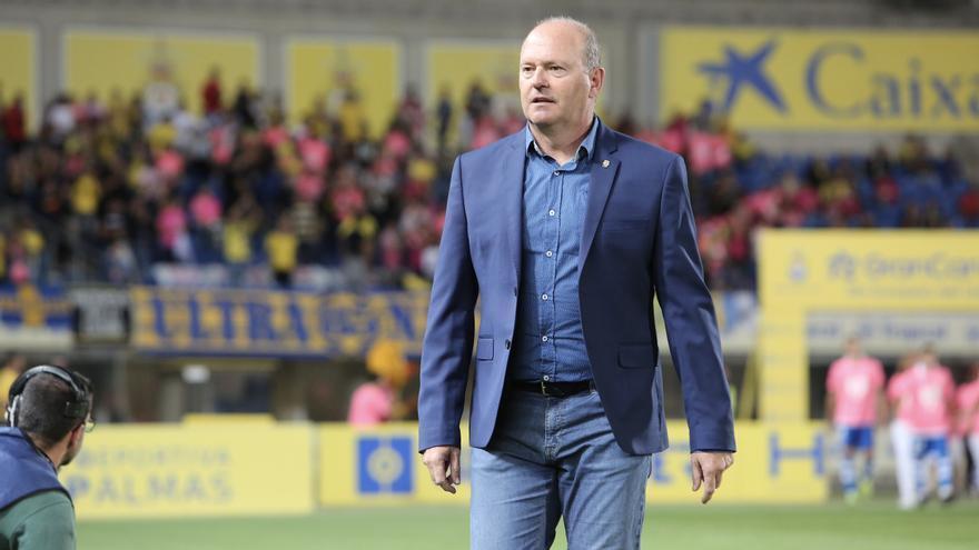 Pepe Mel, entrenador de la UD Las Palmas.