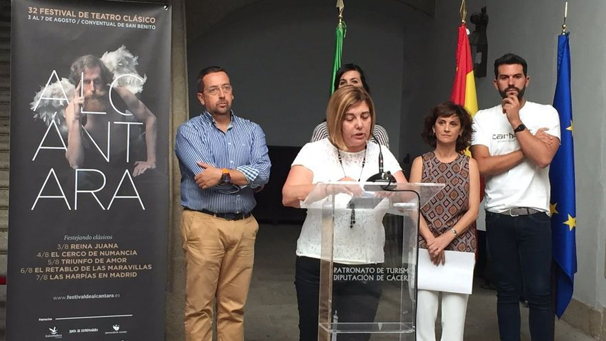 Presentación Festival Alcantara Charo Cordero