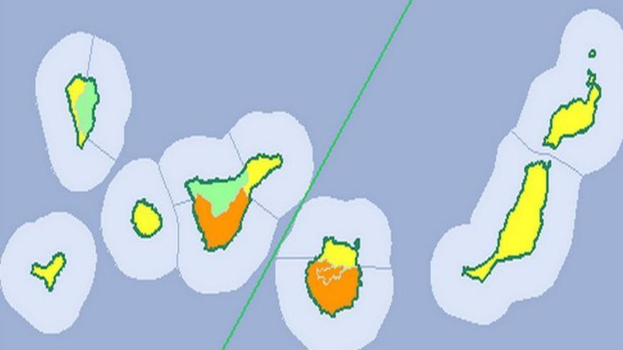 Tenerife, en aviso amarillo por altas temperaturas