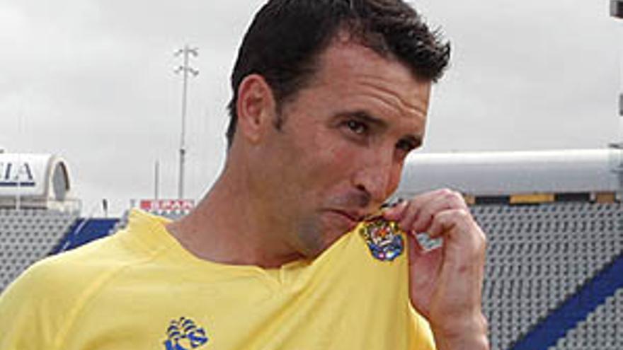 El centrocampista de la UD Las Palmas.