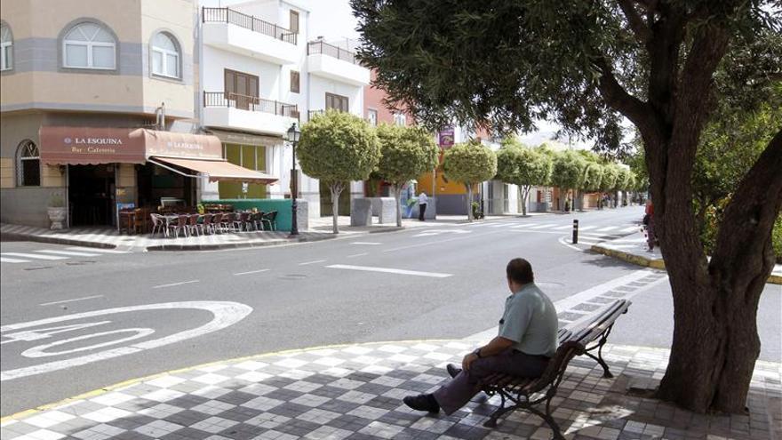 El calor no da tregua en Agüimes (Gran Canaria), donde los vecinos no recuerdan nada igual