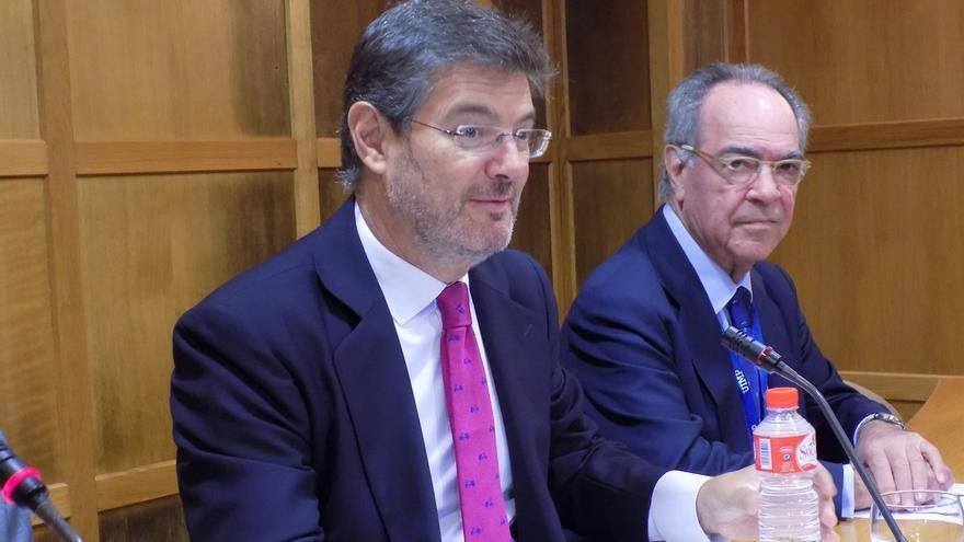 """Catalá aboga por un pacto para que la presunción de inocencia """"sea un valor fundamental"""""""