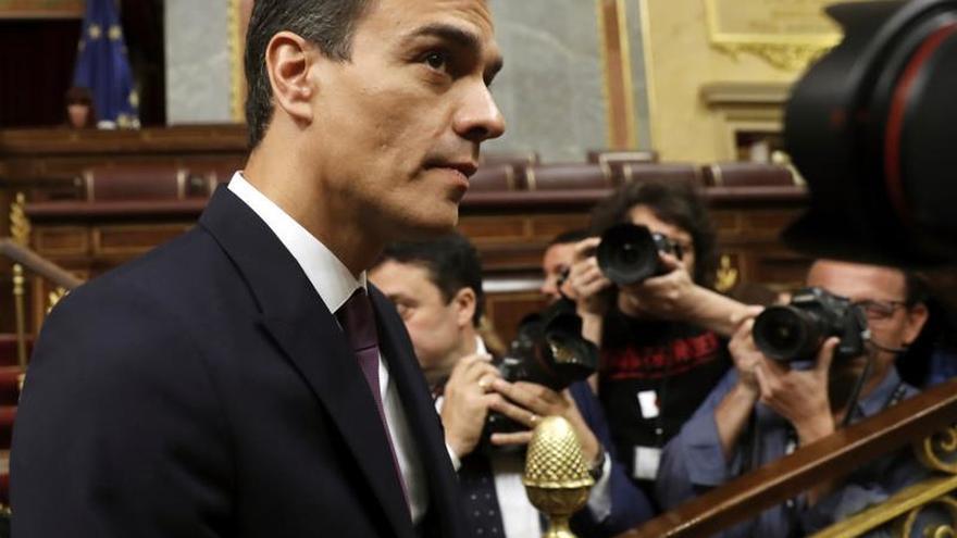 """Sánchez asegura que dialogar con Cataluña """"no es ceder"""" sino buscar solución"""