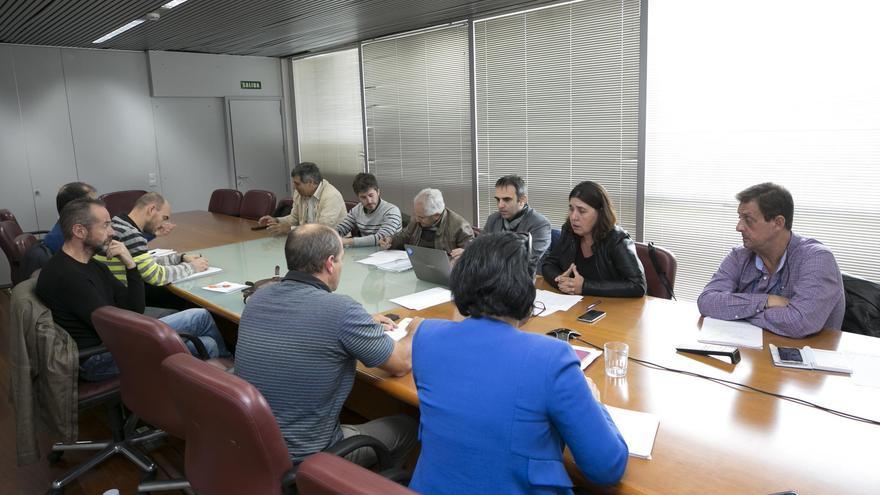 Reunión de la Comisión del Medio Marino del Observatorio Canario del Cambio Climático