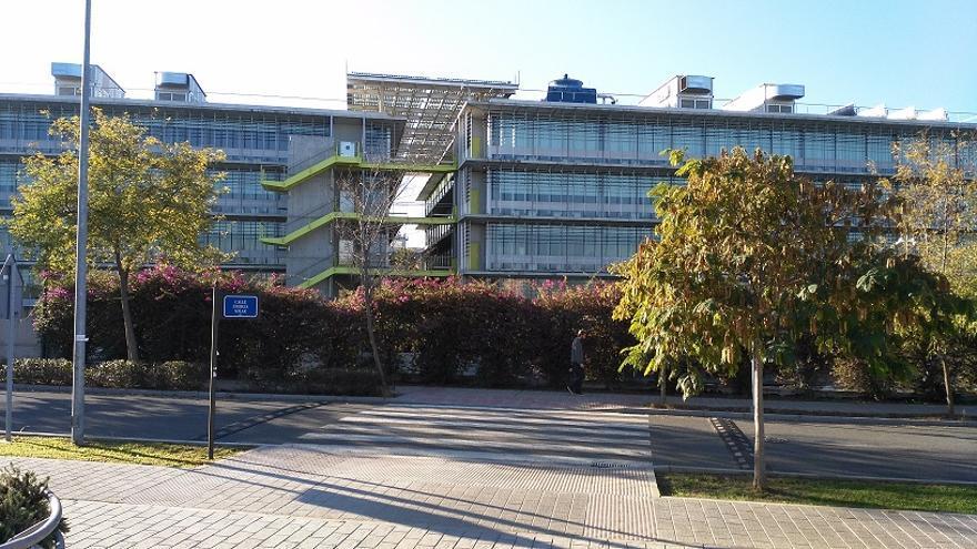 Sede de Palmas Altas, central de la multinacional, al sur de Sevilla