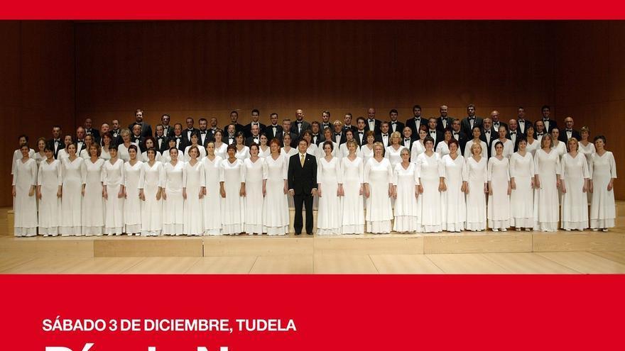 Tudela celebrará el Día de Navarra con un concierto del Orfeón Pamplonés