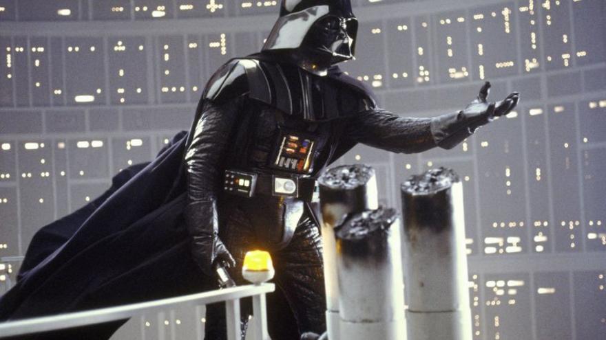 Fotograma de Darth Vader en 'El Imperio contraataca'