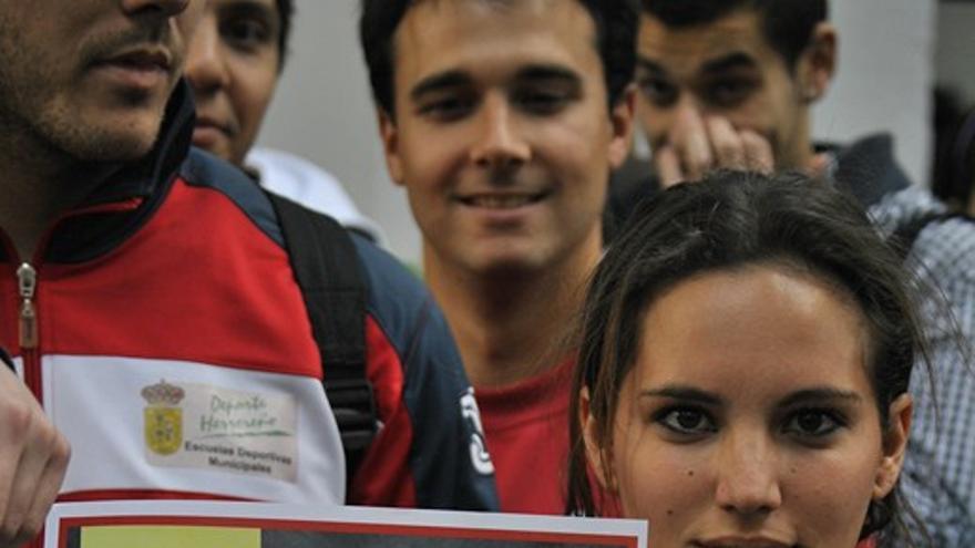 Concentración contra el acoso laboral y sexual en la Universidad de Sevilla
