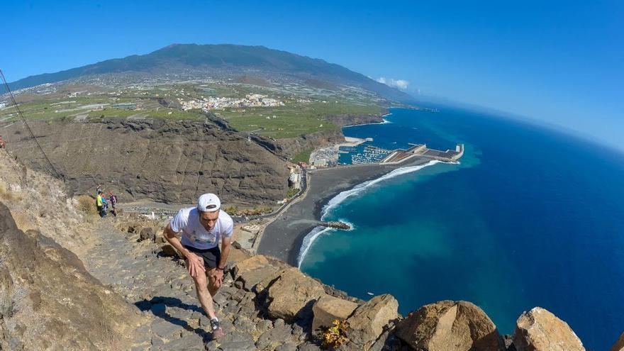 Edición 2015 del Kilómetro Vertical Transvulcania Binter (Racephotos Sports Photography/Transvulcania)