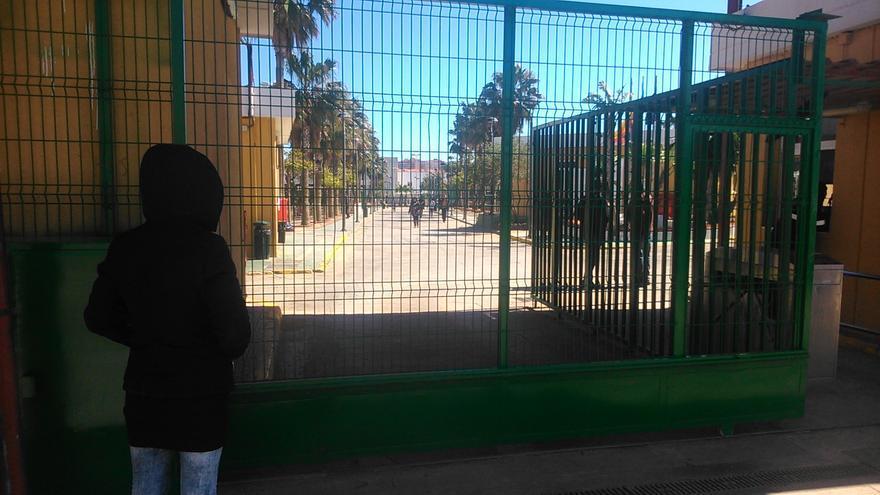 Centro de migrantes de Melilla