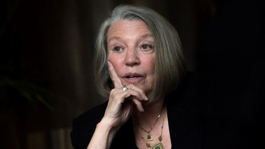 Nancy Fraser, durante la entrevista en Madrid. FOTO: Fernando Sánchez