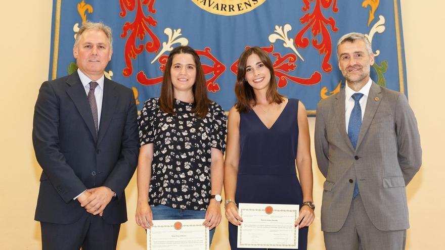 La UPNA concede a cuatro estudiantes de máster los Premios Extraordinarios de Fin de Estudios