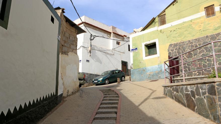Calle en el Risco de San Nicolás