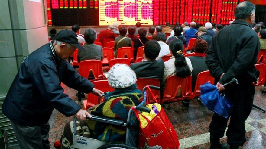La Bolsa de Shanghái sube el 0,21 % en la apertura