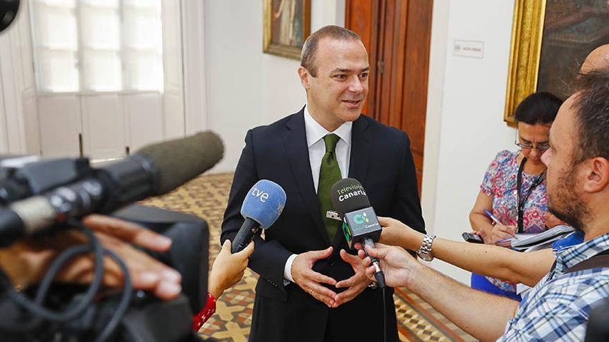 El alcalde de Las Palmas de Gran Canaria, Augusto Hidalgo.