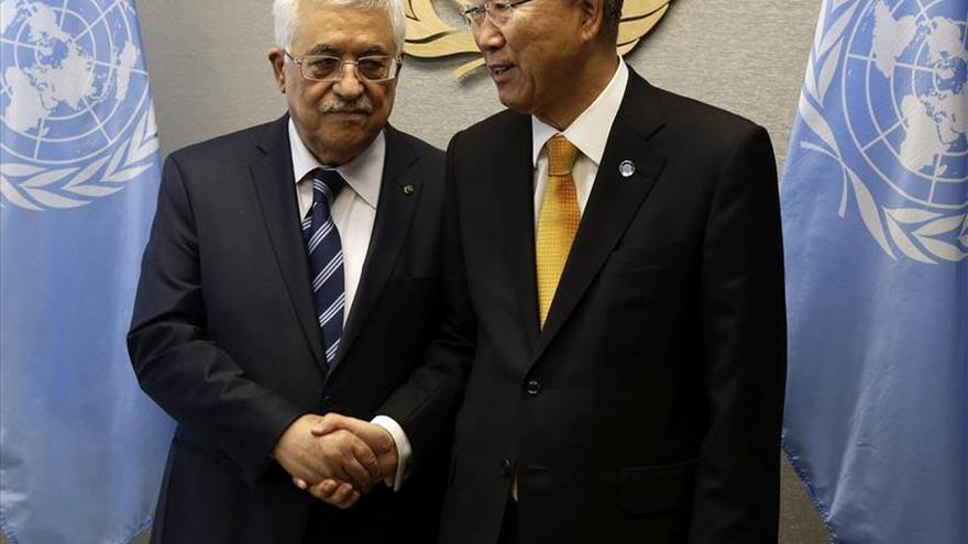 Ban Ki-moon conversa con Abás sobre las tensiones que se viven en Cisjordania