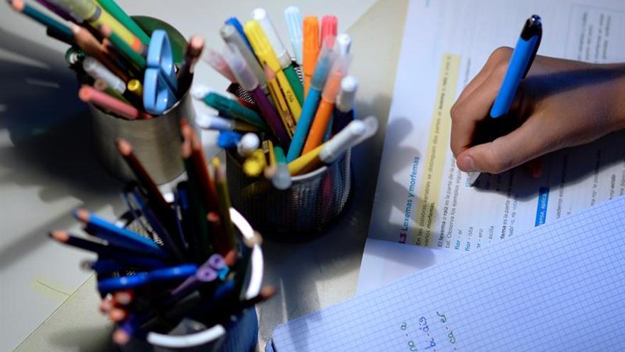"""Primera """"huelga de deberes"""" para recuperar el tiempo libre familiar"""