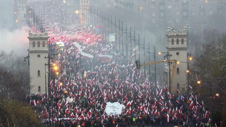 """Kaczynski quiere que Polonia sea """"una nación verdaderamente soberana"""""""