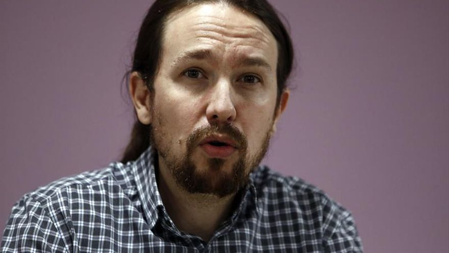 Iglesias advierte de que Podemos fracasará si se convierte en tres partidos