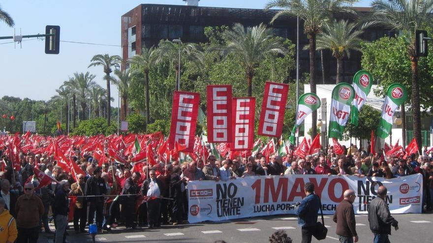 """Hurtado (PSOE) afirma que las manifestaciones """"siguen en aumento, a pesar de la anunciada recuperación"""""""