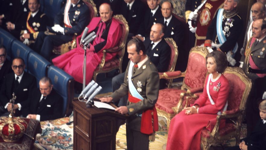22N, el insólito 45 aniversario de la proclamación del rey Juan Carlos