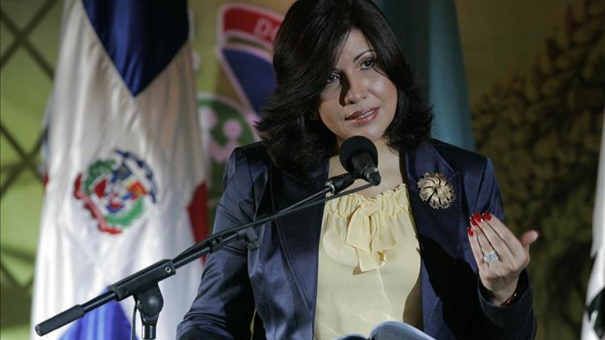La vicepresidenta dominicana reclama justicia social para la mujer rural