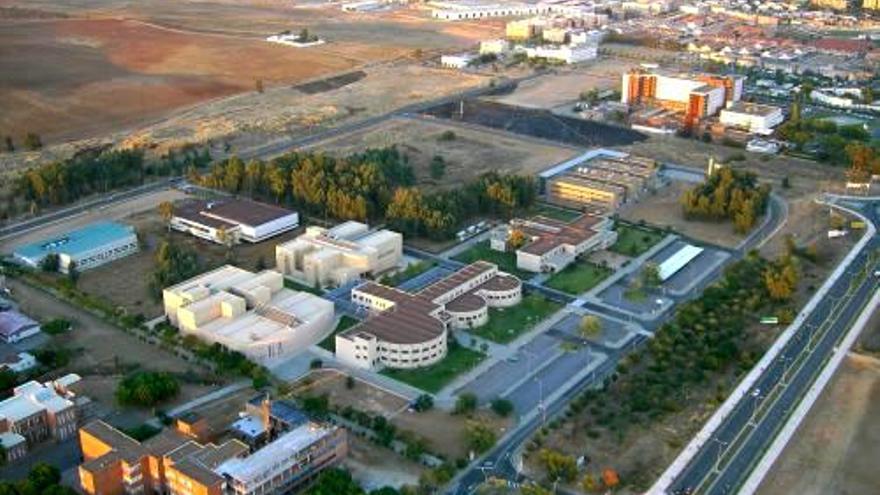 Campus de Badajoz de la Universidad de Extremadura / www.unex.es