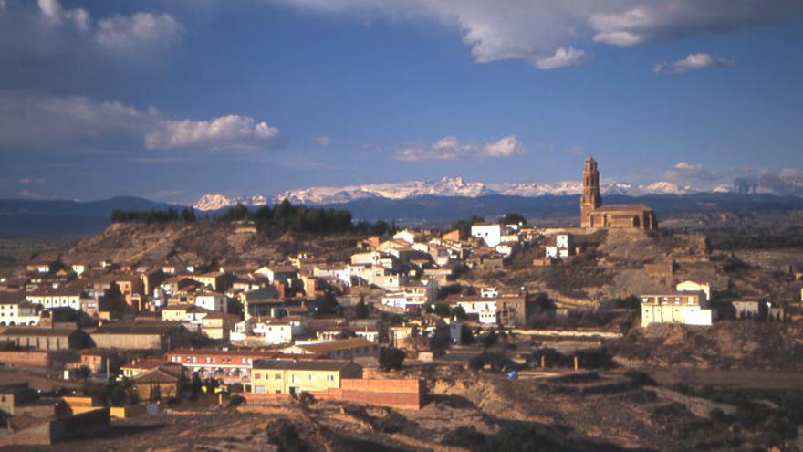 Vista de Castejón del Puente.