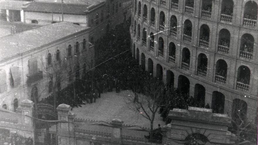 La Plaza de Toros de Valencia fue utilizada como centro de retención de prisioneros tras la Guerra Civil