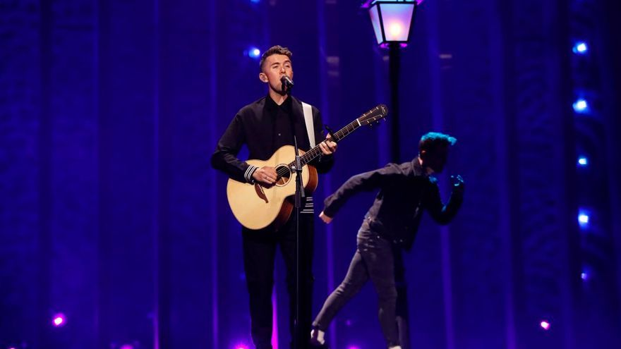 Ryan O'Shaughnessy, representante de Irlanda en Eurovisión 2018