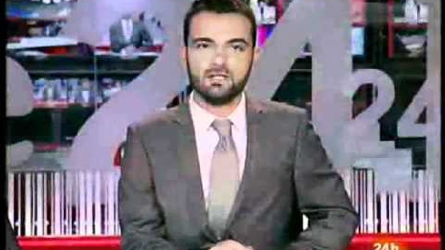 Gabriel López, periodista de TVE
