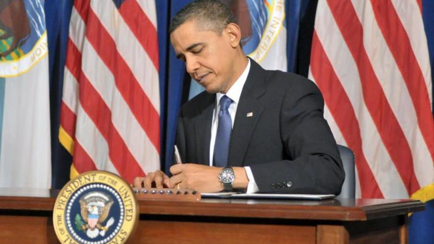 Obama firmará esta semana un plan de gasto de un billón de dólares, tras aprobarlo el Senado