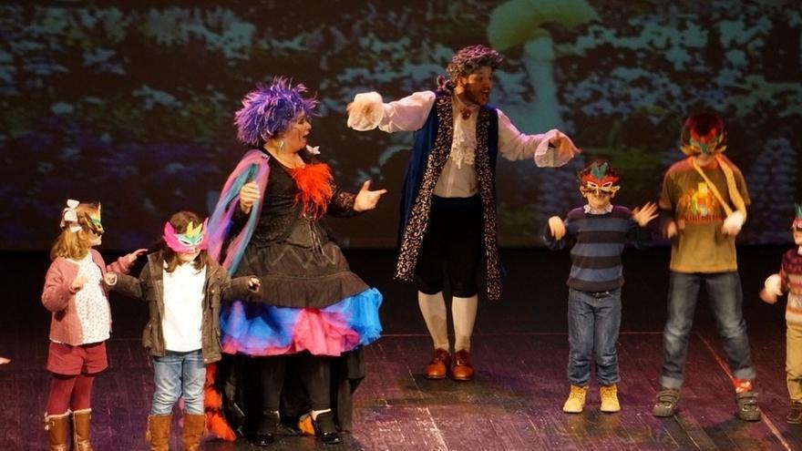 La compañía vasca Ópera Divertimento trae a Bilbao la ópera infantil 'El pequeño Pinocho' este fin de semana