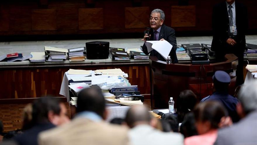 El juez Gálvez decidirá mañana si procesa a 57 acusados de saqueo a Guatemala